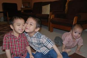 Doakan kesejahteraan anak-anak saya melawan flu