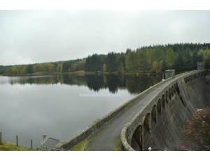 Empangan lama di Loch Logann
