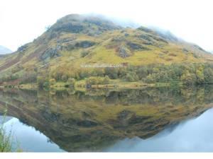 Antara pemandangan menarik di A830. Sepanjang perjalanan dipenuhi dengan pemandangan ini.